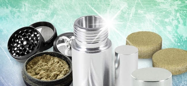what is a pollen press and how to use it